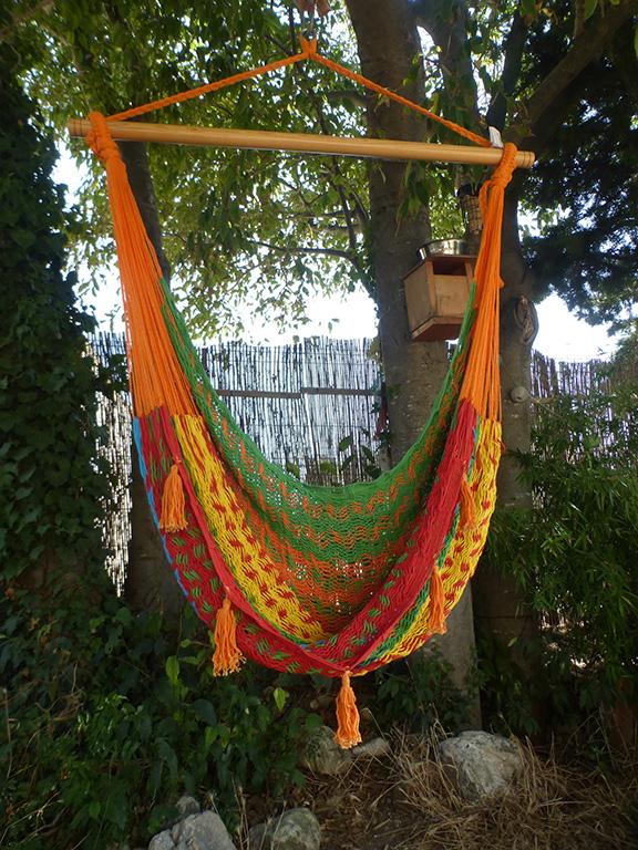 hamac chaise mexicain coton artisanal