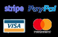 paiement sécurise paypal visa stripe mastercard